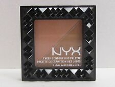 NYX Cheek Contour Duo Palette color CHCD05 Two To Tango Full Size Brand New