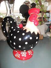Burton and Burton Cockadoodle Doo Rooster Teapot Ceramic Farm Animals Teapot