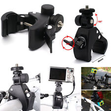 Hot Motorcycle Bicycle Handlebar Mount Tripod For Camera 1/4 Screw Clamp Bracket