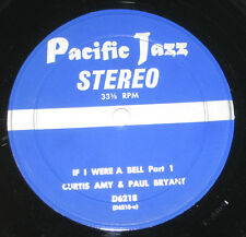 """Curtis Amy & Paul Bryant 7"""" 33 HEAR SOUL JAZZ If I Were A Bell PACIFIC JAZZ"""