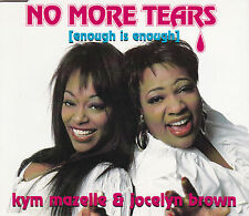 MAXI CD SINGLE 4T KYM MAZELLE & JOCELYN BROWN NO MORE TEARS ENOUGH IS ENOUGH