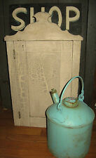 OUTSTANDING ANTIQUE PRIMITIVE CUPBOARD BEST OLD PAINT, EXCELLENT FORM AAFA NR