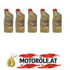 5x1 Liter Castrol EDGE Professional Longlife III Titanium FST 5W-30 Motoröl