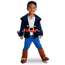 The Disney Store Captain Jake Costume Size 3 Jake And The Never land Pirates