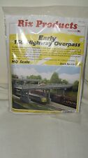 Rix Products HO Scale Early 150' Highway Overpass With Pier Item #628-0103 New