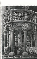 Pisa Cathedral Cathedral Pulpit   Giovanni Pisano Mailed 1953  B/W Postcard 337