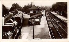 Virginia Water Railway Station by J.& W.Gilbert, Egham & Englefield Green.