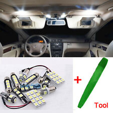 10Pcs Premium LED Bulbs Kit Interior White Error Free For Mercedes ML W163 ML
