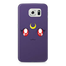 Sailor Moon Luna Cat Samsung Galaxy S6 Hard Case Geeky Anime Cosplay