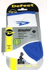 DeFeet Aireator Socken White/blue Weiß/Blau  Gr. M (40-42,5)