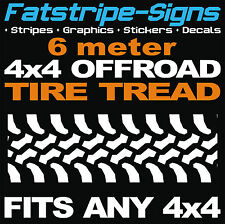 4x4 Offroad Voiture Pneu Tread graphiques autocollants stickers Defender Discovery jeep pneu
