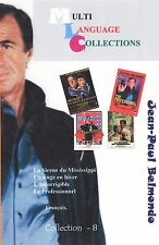 Jean-Paul Belmondo. Collection 8. Multilanguage  French.  4 movies