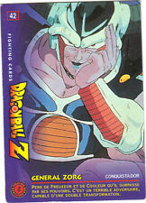 DRAGON BALL Z - Fighting cards n° 42 - General ZORG