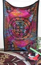TWIN Elefante Mandala Hippie Tapestry Wall Da Appendere Copriletto Bohemien Decor Art