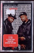 Hen-Gee & Evil-E – Brothers LP CASSETTE PENDULUM RAP 1991 SEALED OOP