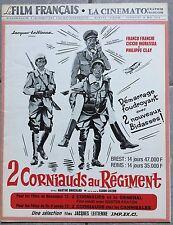 Magazine LE FILM FRANCAIS La Cinémato 2 CORNIAUDS AU REGIMENT Franchi 1972 *