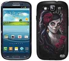 Spiral DAY OF THE DEAD Samsung Galaxy S3/SIII Phone Case/Cover sugar skull/biker