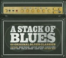 A STACK OF BLUES - 3 CD BOX SET - MUDDY WATERS, ELMORE JAMES & MANY MORE