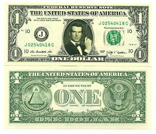 JAMES BOND PIERCE BROSNAN VRAI BILLET DOLLAR US! Collection 007 Acteur Hollywood