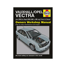Vauxhall Vectra 1.8 2.2 Pet 1.9 2.0 2.2 Dsl 02-05 (02 a 55 Reg) Haynes Manual