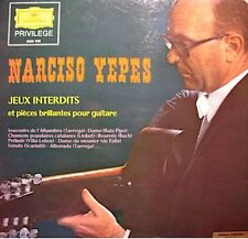 ++NARCISO YEPES jeux interdits & pieces brillantes pr guitare LP DEUTSCHE EX++