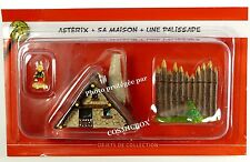 ASTERIX TOWN resin house and lead figure of ASTERIX Village collection item NEW