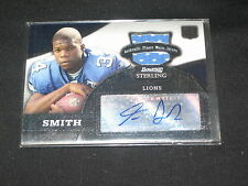 KEVIN SMITH ROOKIE HAND SIGNED AUTOGRAPHED EVENT WORN JERSEY FOOTBALL CARD RARE