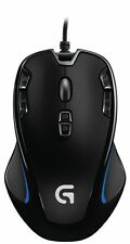 Logitech G300s 9 Button Black Backlit Optical Gaming Mouse Wired USB PC A