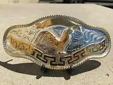 NEW ROOSTER COCKFIGHTING COWBOY mariachi BELT BUCKLE WESTERN WEAR evilla GA