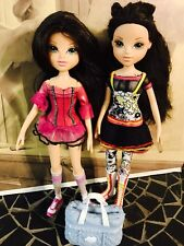 "MGA Lot of 2 Lexa Moxie Girlz Dolls 9.5"" with Bag"