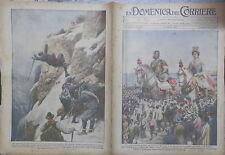 LA DOMENICA DEL CORRIERE 29 Agosto 1926 Fondatori di Messina Val d Egga Dolomiti