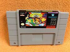 Battletoads in Battlemaniacs **Cart Only** Super Nintendo SNES FREE SHIP Rare!