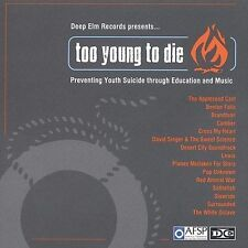 Deep Elm Sampler - Too Young To Die Various Artists MUSIC CD