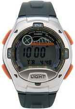 Casio W753-3A Digital 100m Sports Watch Tide Graph 10 Year Battery Moon Data NEW