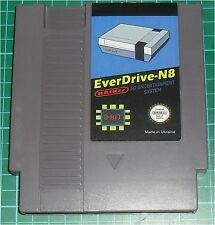 EVERDRIVE N8 nes krikzz nintendo entertainment system, SD slot, grey, new