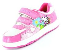 Girls Hello Kitty Mulberry Skate Pink Trainers Shoe Sizes 6-12