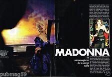 Coupure de Presse Clipping 1986 (5 pages) Madonna