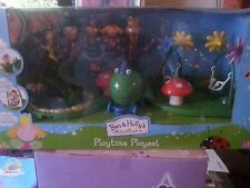 BNIB. BEN AND HOLLY`S LITTLE KINGDOM,PLAYTIME PLAYSET. NEW SEALED. AGE 3+