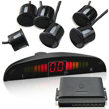 6 Front and Rear Sensors Car Reverse Parking Sensor System LED Display 8 Colors