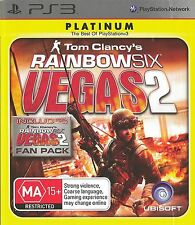 PLAYSTATION 3 TOM CLANCY'S RAINBOW SIX VEGAS 2 COMPLETE EDITION PLATINUM GAME