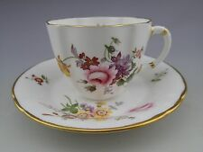 Royal Crown Derby English Bone China Derby Posies Tea Cup and Saucer