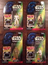 Star Wars POTF 4 Different Luke Skywalker Freeze Frame Action Figures - NIP