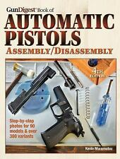 Book of Automatic Pistols Assembly/Disassembly Step by Step New & free Shipping