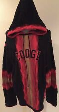 Men's 4XL RARE Vintage Mercerized Coogi Hoodie Hooded Sweatshirt Sweater
