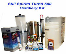 Still Spirits Turbo 500 Distillery Kit#2 with Reflux S.Steel Condensor Homebrew