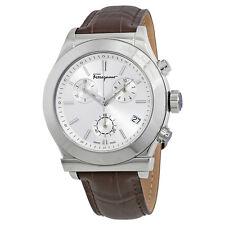 Ferragamo 1898 Chronograph Silver Dial Mens Watch FF3820015