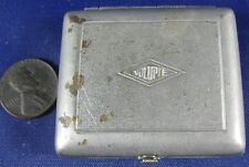 Antique 1890's-1900's Coin Purse Nickle Plated Brass Volupte