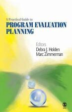 A Practical Guide to Program Evaluation Planning by Holden and Zimmerman (Used)