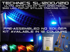 NO SOLDER Technics SL-1200 & 1210 LED Kit With Directional SMD LED Stylus Light