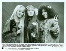 LARA PIPER KHRYSTYNE HAJE RAIN PRYOR FLOWER CHILDREN HIPPIES 1990 ABC TV PHOTO